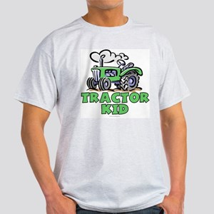 Green Tractor Kid Light T-Shirt