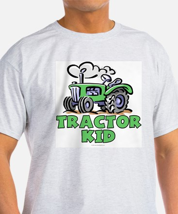 Green Tractor Kid T-Shirt