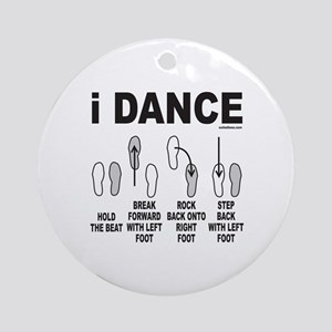 DANCE/DANCING/DANCER Ornament (Round)