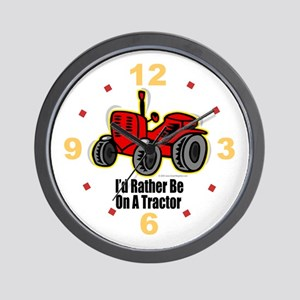 Funny Tractor Wall Clock