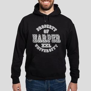 Property of Harper Last Name University Hoodie (da