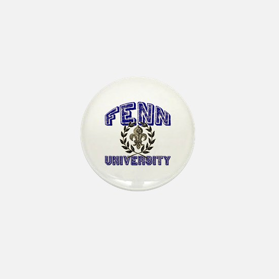 Fenn Last Name University Mini Button