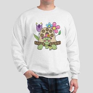 Springtime Turtle Sweatshirt