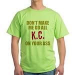 Kansas City Football Green T-Shirt