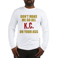 Kansas City Football Long Sleeve T-Shirt