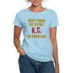 Kansas City Football Women's Light T-Shirt