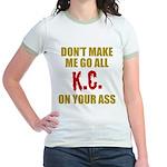 Kansas City Football Jr. Ringer T-Shirt
