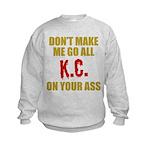 Kansas City Football Kids Sweatshirt