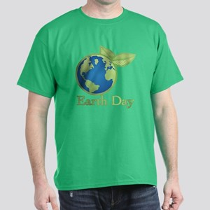 Earth Day Alive Dark T-Shirt