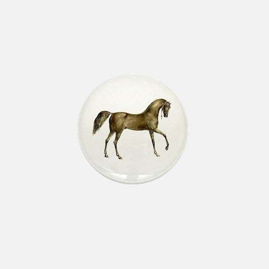 Vintage Horse Mini Button