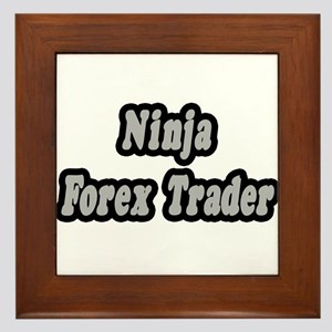 """""""Ninja Forex Trader"""" Framed Tile"""