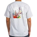 Light T-Shirt: Art Splash, BigAssGrafix logo