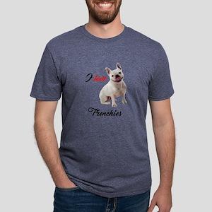 I Love French Bulldogs T-Shirt