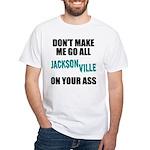 Jacksonville Football White T-Shirt