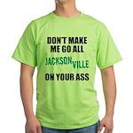 Jacksonville Football Green T-Shirt