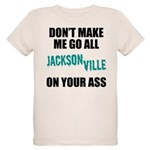 Jacksonville Football Organic Kids T-Shirt