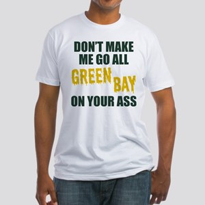 Green Bay Football Fitted T-Shirt