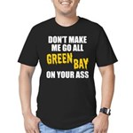 Green Bay Football Men's Fitted T-Shirt (dark)