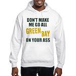 Green Bay Football Hooded Sweatshirt