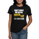 Green Bay Football Women's Dark T-Shirt