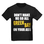 Green Bay Football Kids Dark T-Shirt
