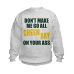 Green Bay Football Kids Sweatshirt