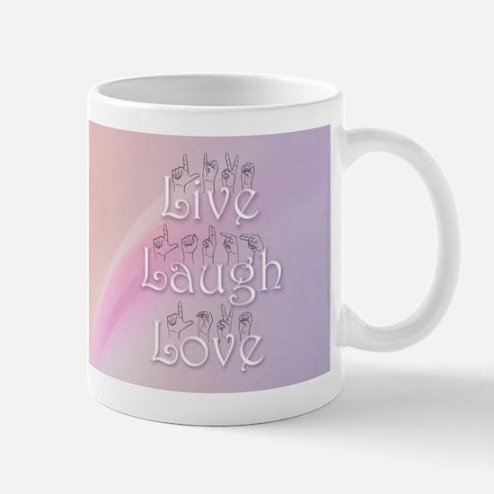 Live, Laugh, and Love Mug