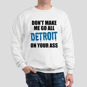 Detroit Football Sweatshirt