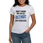 Detroit Football Women's T-Shirt