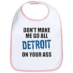 Detroit Football Bib