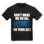 Detroit Football Kids Dark T-Shirt