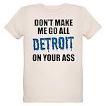 Detroit Football Organic Kids T-Shirt