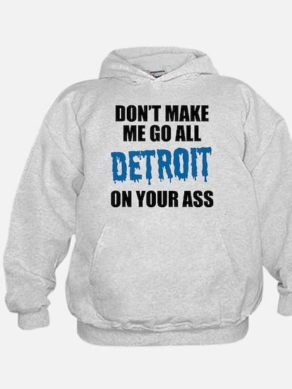 Detroit Football Hoodie