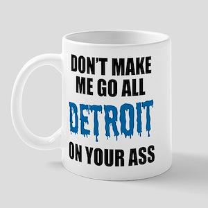 Detroit Football Mug
