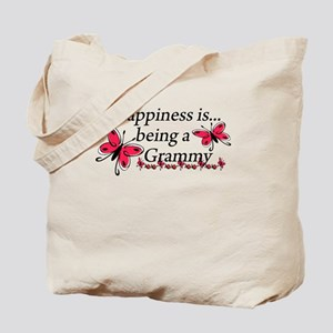 Butterfly Being A Grammy Tote Bag
