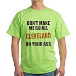 Cleveland Football Green T-Shirt