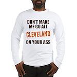 Cleveland Football Long Sleeve T-Shirt