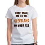 Cleveland Football Women's T-Shirt