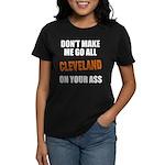 Cleveland Football Women's Dark T-Shirt