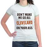 Cleveland Football Jr. Ringer T-Shirt