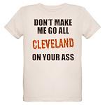Cleveland Football Organic Kids T-Shirt