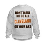 Cleveland Football Kids Sweatshirt