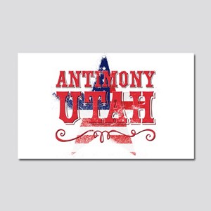Antimony Utah Car Magnet 20 x 12