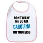 Carolina Football Bib