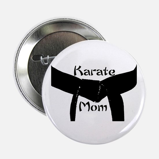 "Martial Arts Karate Mom 2.25"" Button"