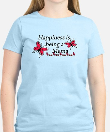 Butterfly Being A Mema Women's Light T-Shirt