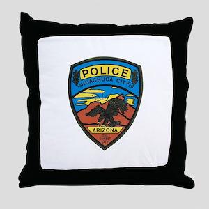 Huachuca City Police Throw Pillow