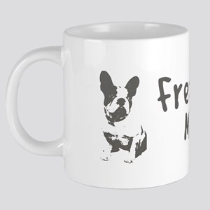 Frenchie Mom 20 oz Ceramic Mega Mug