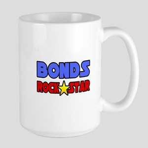 """Bonds Rock Star"" Large Mug"
