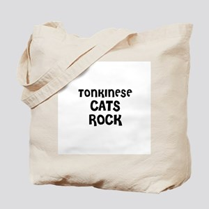 TONKINESE CATS ROCK Tote Bag
